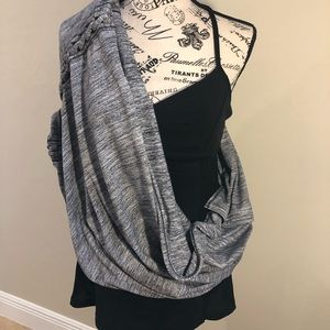 Lululemon Vinyasa scarf cape